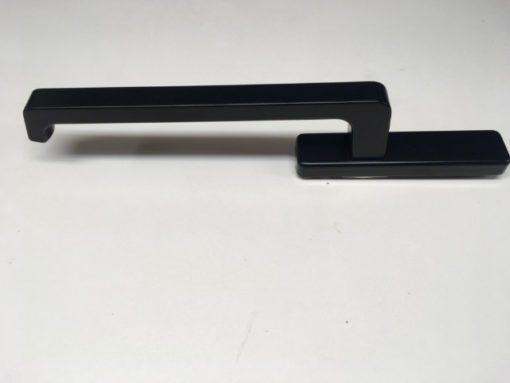 Zwart(mat) GU schuifraam beslag zonder slot