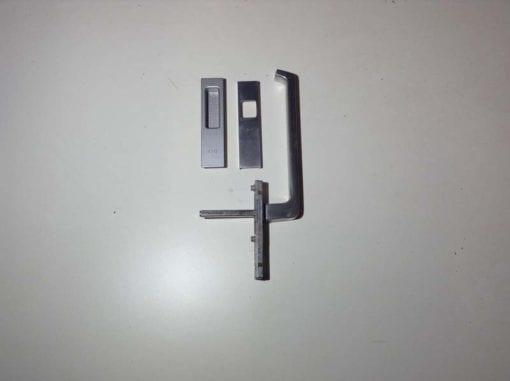 GU greep met kom buitenzijde zonder cilindergat